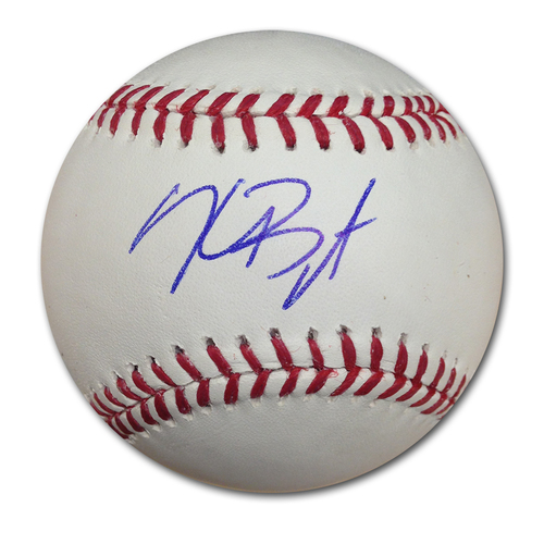 Photo of Kris Bryant Autographed Baseball