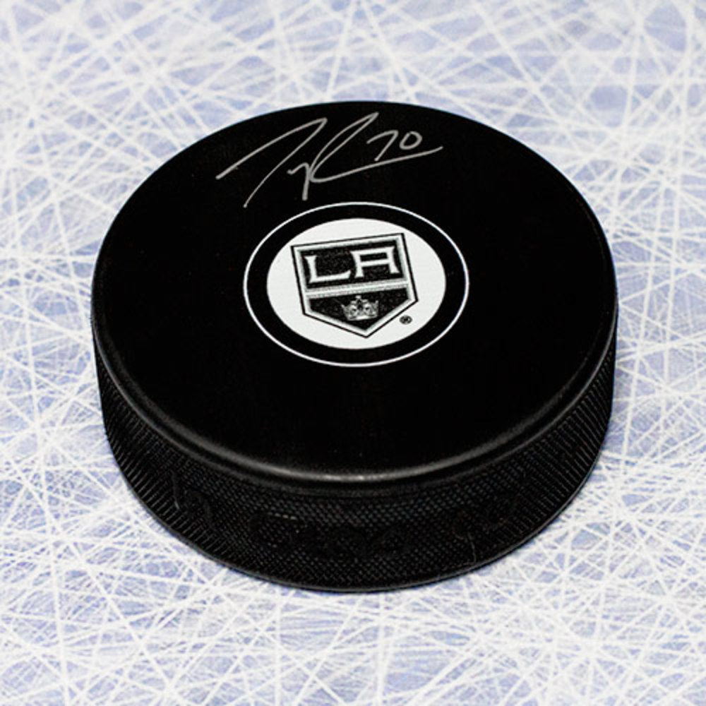 Tanner Pearson Los Angeles Kings Autographed Hockey Puck