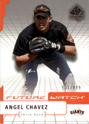 Photo of 2004 SP Authentic #91 Angel Chavez FW RC