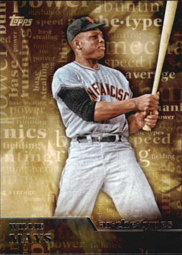 Photo of 2015 Topps Archetypes #A23 Willie Mays
