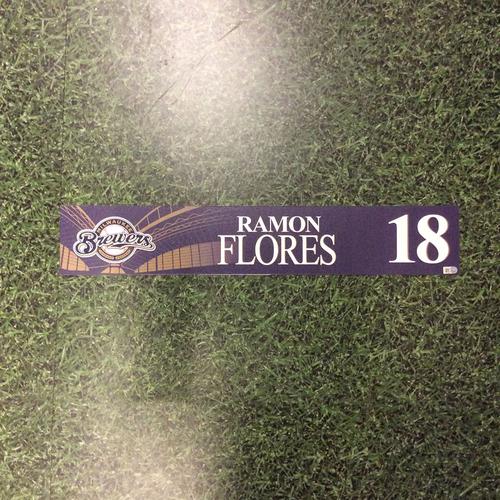Photo of Ramon Flores 2016 Locker Nameplate