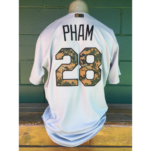 Photo of Cardinals Authentics: Tommy Pham Memorial Day Jersey