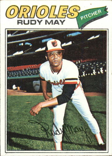 Photo of 1977 Topps #56 Rudy May