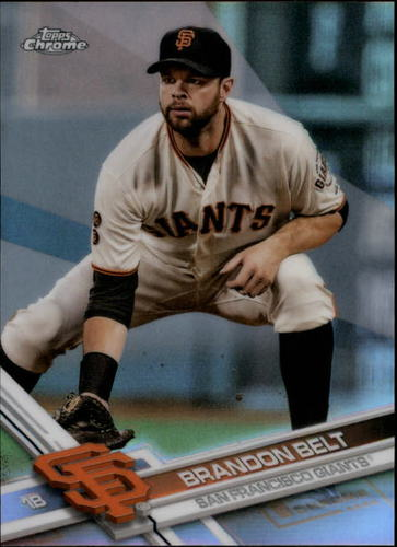 Photo of 2017 Topps Chrome Refractors #176 Brandon Belt