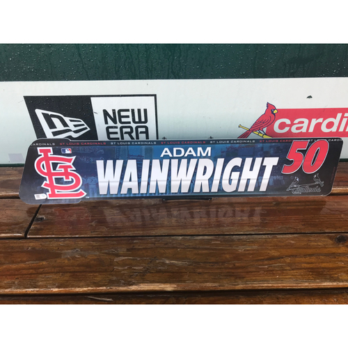 Cardinals Authentics: Adam Wainwright Locker tag