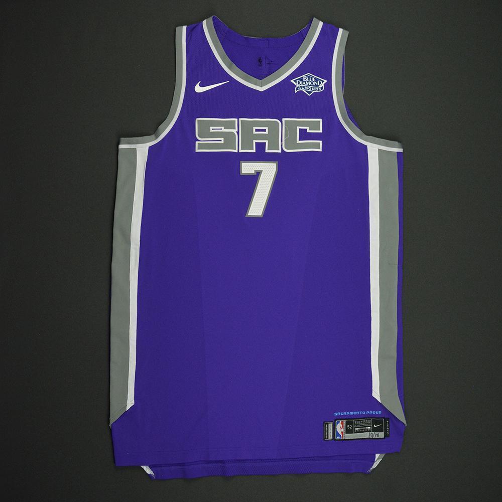 Skal Labissiere - Sacramento Kings - Kia NBA Tip-Off 2017 - Game-Worn Jersey - Double-Double