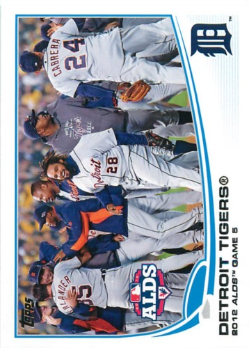 Photo of 2013 Topps #42 Detroit Tigers
