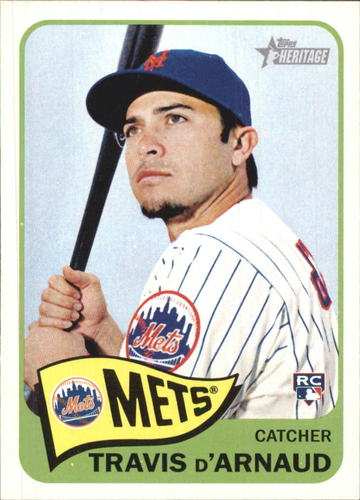 Photo of 2014 Topps Heritage #H592 Travis d'Arnaud RC