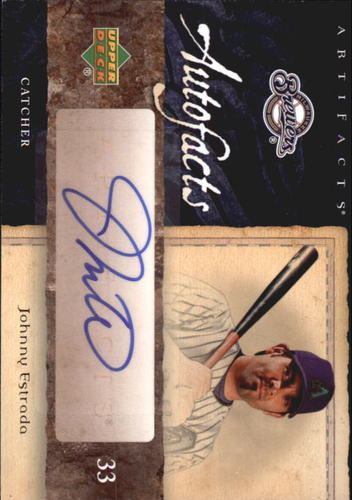 Photo of 2007 Artifacts Autofacts #JE Johnny Estrada