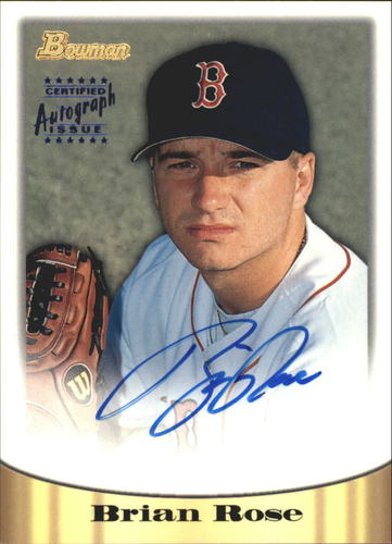 Photo of 1998 Bowman Certified Blue Autographs #32 Brian Rose