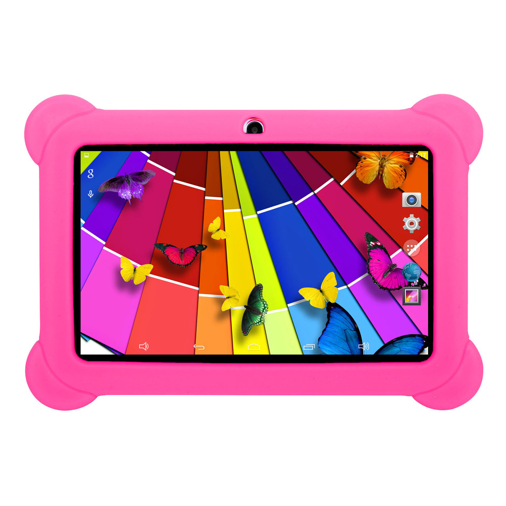 KOCASO DX758 7-Inch Quad-Core Android Kids Tablet - Pink