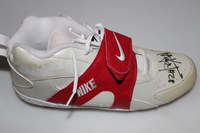NFL - KEVIN THOMAS SIGNED RIGHT SHOE