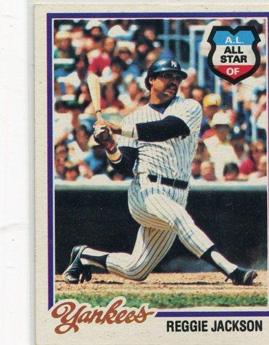 Photo of 1978 Topps #200 Reggie Jackson -- Hall of Famer