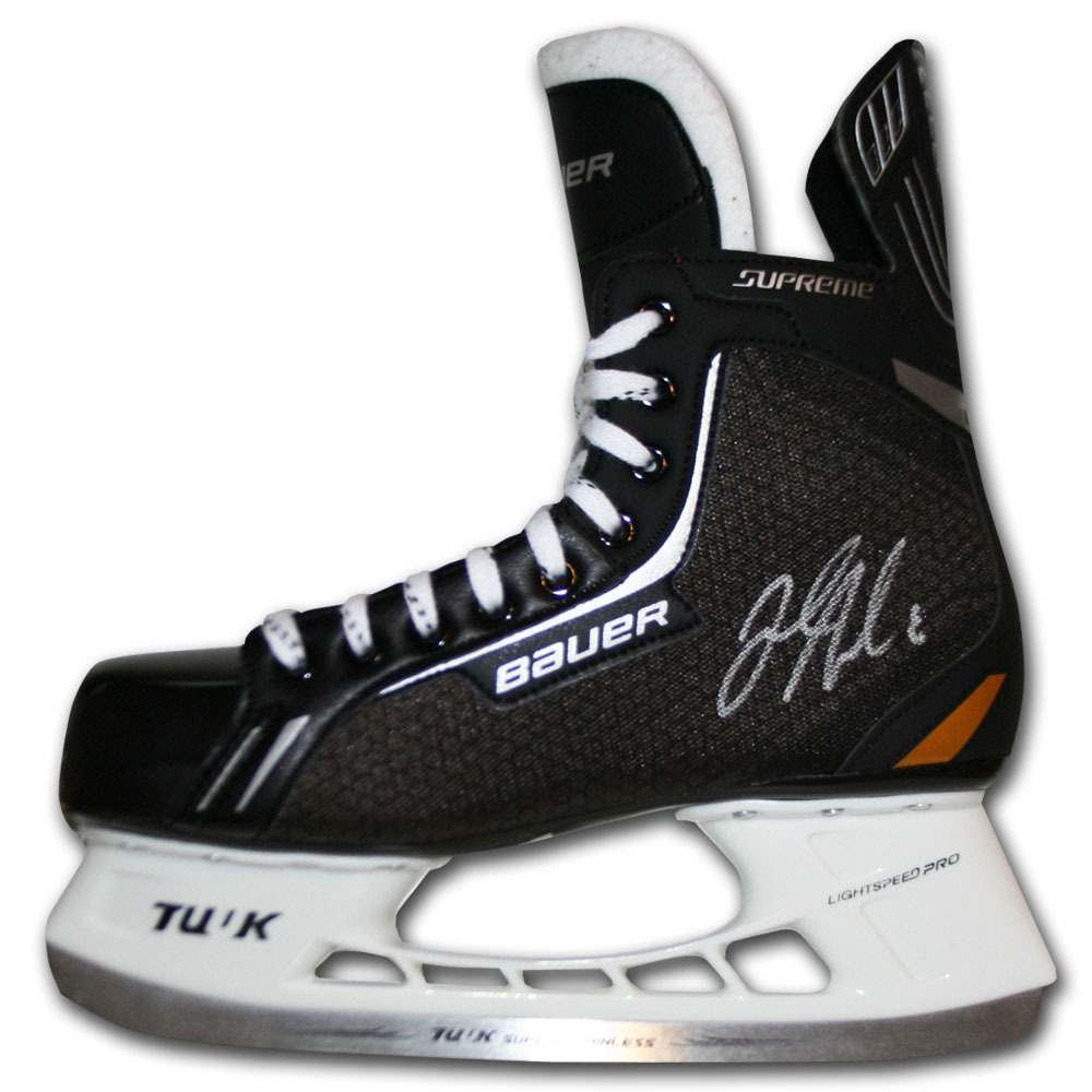 Jacob Trouba Autographed Bauer Hockey Skate (Winnipeg Jets)