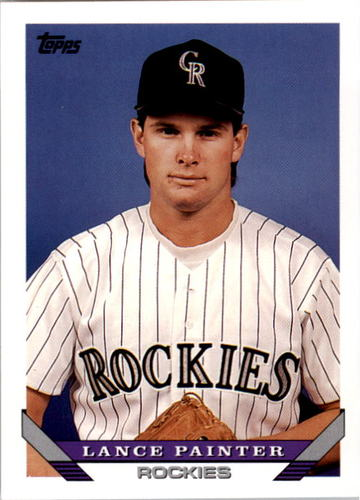 Photo of 1993 Topps #738 Lance Painter RC