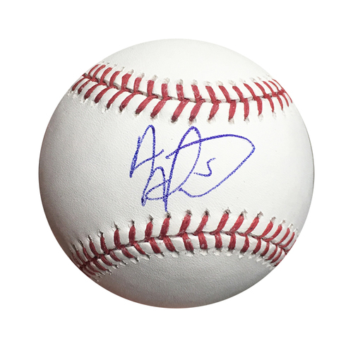 Albert Almora Jr. Autographed World Series Baseball