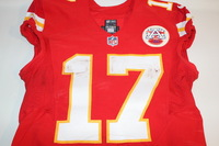 BCA - CHIEFS CHRIS CONLEY GAME WORN AND SIGNED CHIEFS JERSEY (OCTOBER 23 2016)