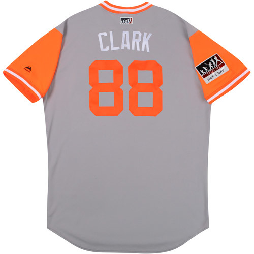 "Photo of Howie ""Clark"" Clark Baltimore Orioles Game-Used Players Weekend Jersey"