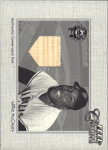 Photo of 2001 Greats of the Game Feel the Game Classics #12 Willie McCovey Bat SP/200