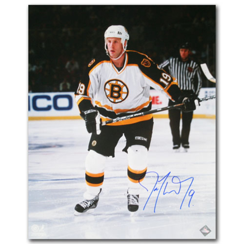 Joe Thornton Autographed Boston Bruins 16X20 Photo