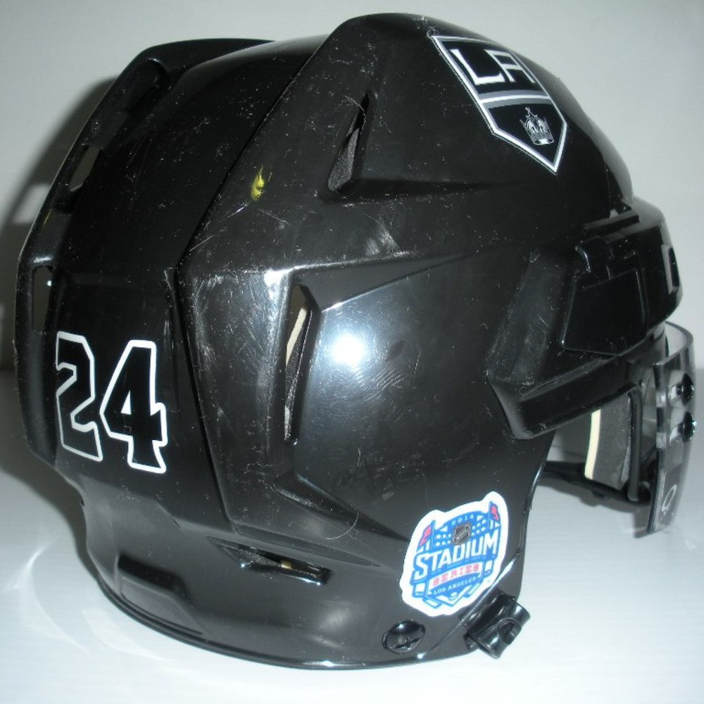 Colin Fraser  - 2014 Stadium Series - LA Kings - Game-Worn Helmet