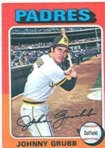 Photo of 1975 Topps #298 Johnny Grubb