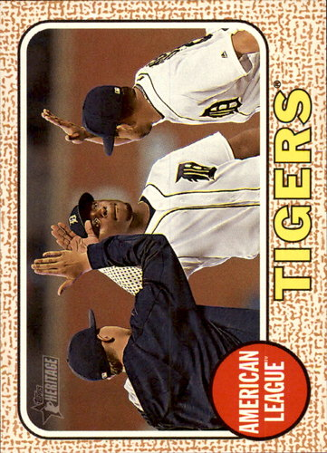 Photo of 2017 Topps Heritage #315 Detroit Tigers TC