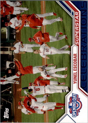 Photo of 2017 Topps Opening Day Superstar Celebrations #SC25 Yunel Escobar