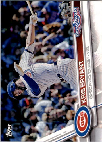 Photo of 2017 Topps Opening Day #1A Kris Bryant