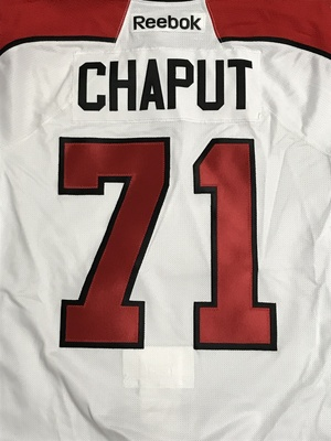 Michael Chaput 2011 Canada Russia Series Game Worn Jersey