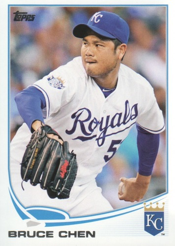 Photo of 2013 Topps #641 Bruce Chen