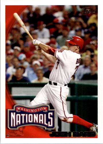 Photo of 2010 Topps #63 Josh Bard