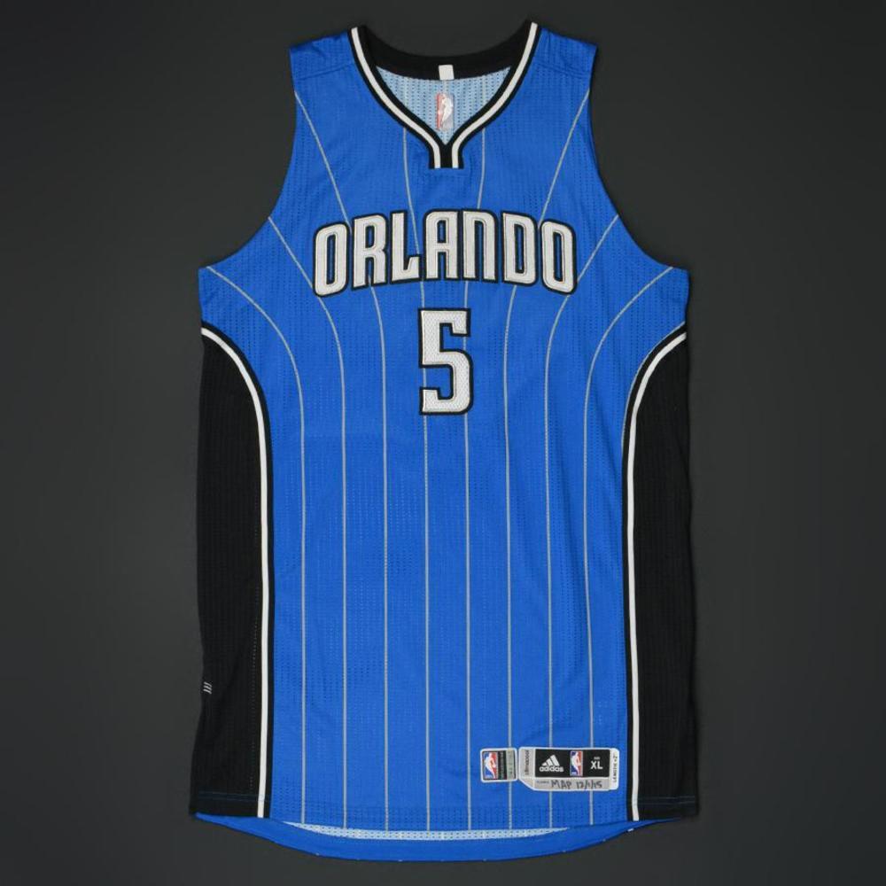 Victor Oladipo - Orlando Magic - Game-Worn Jersey - 2015-16 NBA Season
