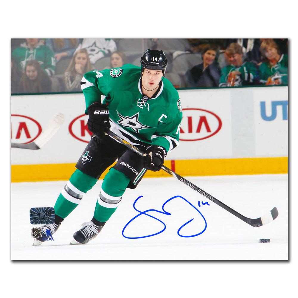 Jamie Benn Dallas Stars PLAYMAKER Autographed 8x10