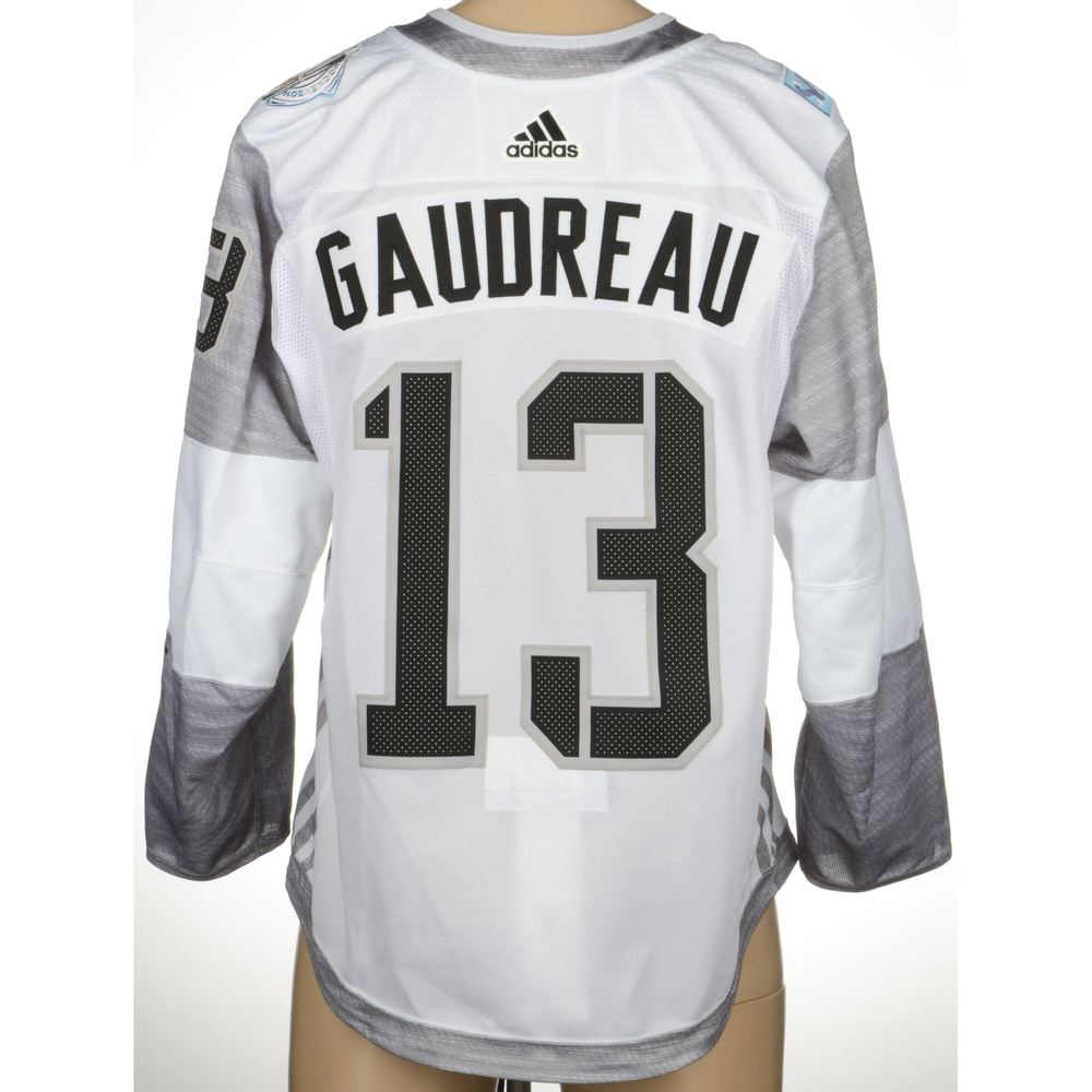 Johnny Gaudreau Calgary Flames Game-Worn 2016 World Cup of Hockey Team North America Jersey, Worn Against Team Finland On September 18th