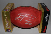 NFL - PACKERS HAHA CLINTON-DIX SIGNED AUTHENTIC FOOTBALL