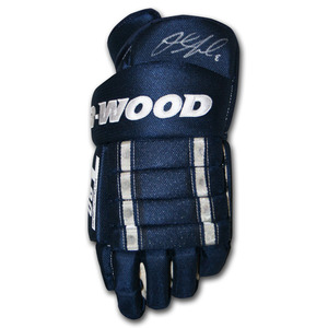 Jacob Trouba Autographed Sher-Wood Hockey Glove (Winnipeg Jets)