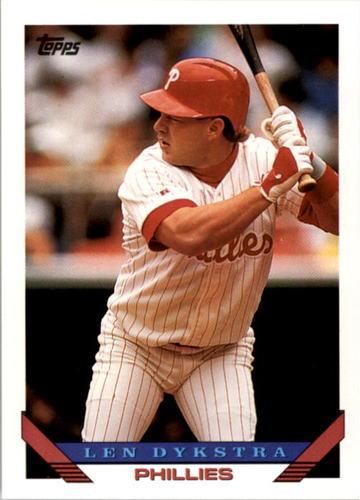 Photo of 1993 Topps #740 Len Dykstra
