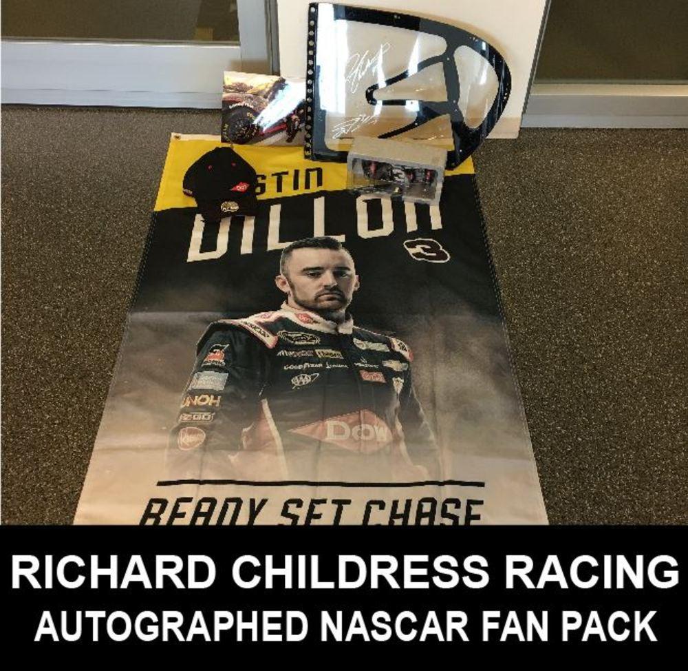 Autographed RCR NASCAR Fan Pack!!!!