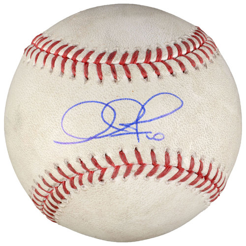 Adam Jones Baltimore Orioles Autographed Game-Used Baseball
