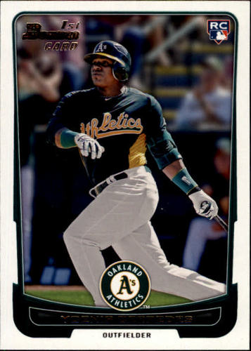 Photo of 2012 Bowman #193 Yoenis Cespedes RC