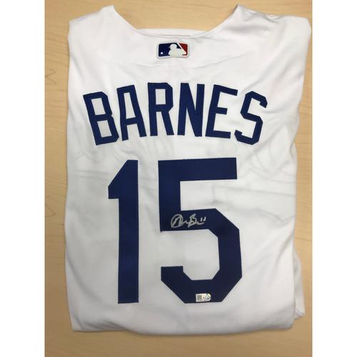 Photo of LA Dodgers Foundation Online Auction: Austin Barnes Authentic Autographed Jersey
