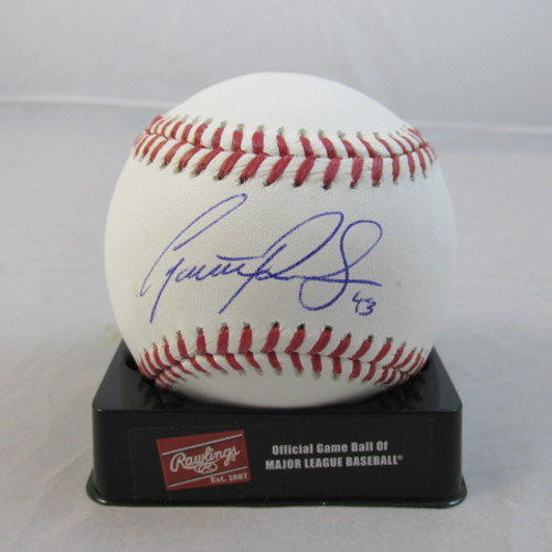 Photo of Garrett Richards Autographed Baseball