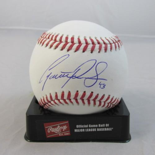 Photo of Garrett Richards Autographed Baseball