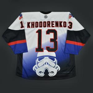 Patrick Khodorenko - 2016 U.S. National Under-18 Development Team - Star Wars Night Game-Worn Jersey