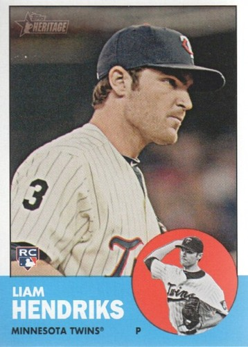 Photo of 2012 Topps Heritage #89 Liam Hendriks