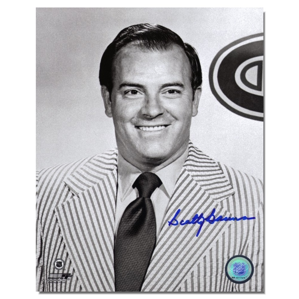 Scotty Bowman Autographed 8x10 photo