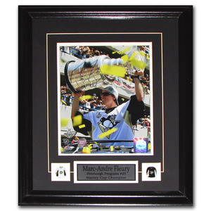 Marc-Andre Fleury Autographed Pittsburgh Penguins Framed 8X10 Photo
