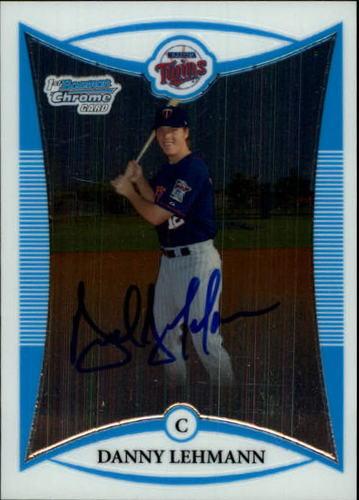 Photo of 2008 Bowman Chrome Prospects #BCP253 Danny Lehmann AU