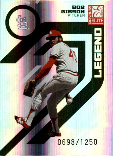 Photo of 2005 Donruss Elite #151 Bob Gibson RET